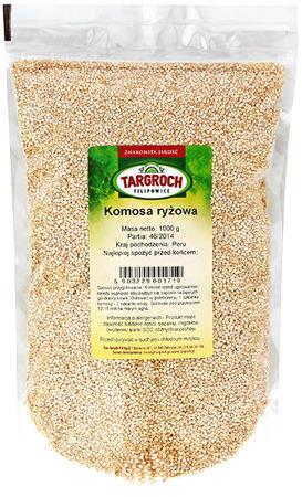 Komosa (Quinoa) ryżowa biała 1kg - Targroch