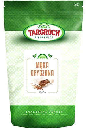 Mąka gryczana, gryka mielona 1kg - Targroch