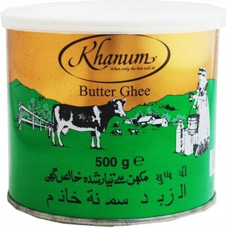 Masło klarowane Ghee 500g - Khanum
