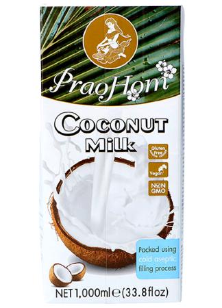 Mleko kokosowe (82%) 1L x 12 sztuk - PraoHom