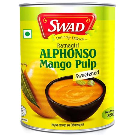 Przecier, pulpa z mango Alphonso 850g - SWAD